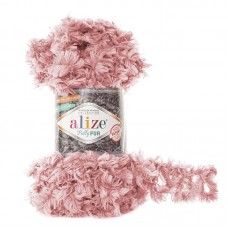 Alize Puffy Fur цвет 6102 Пудра