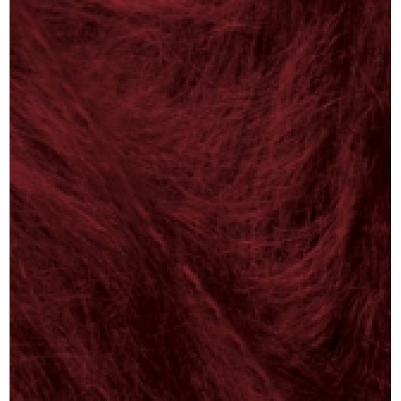 Alize Mohair Classic New цвет Бордовый 57